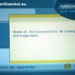 15.7. kein Sender unter den am 3.7. gebuchten SKY-Angebot