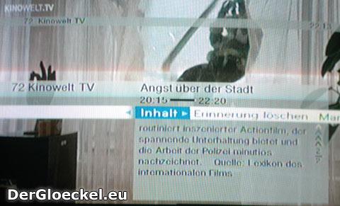 Wann kam der Film heraus? - eine noch immer fehlende Angabe am Bildschirm des TV-Gerätes bei kinowelt.tv